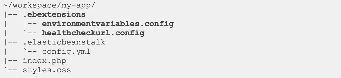 Elastic Beanstalk Configuration files( ebextensions) - 우아한형제들