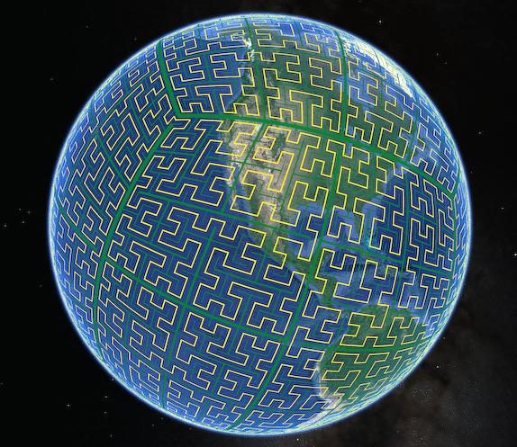 S2 지구본
